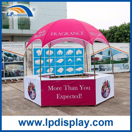 Dia3m Hot Sale Hexagon Dome Kiosk Tent