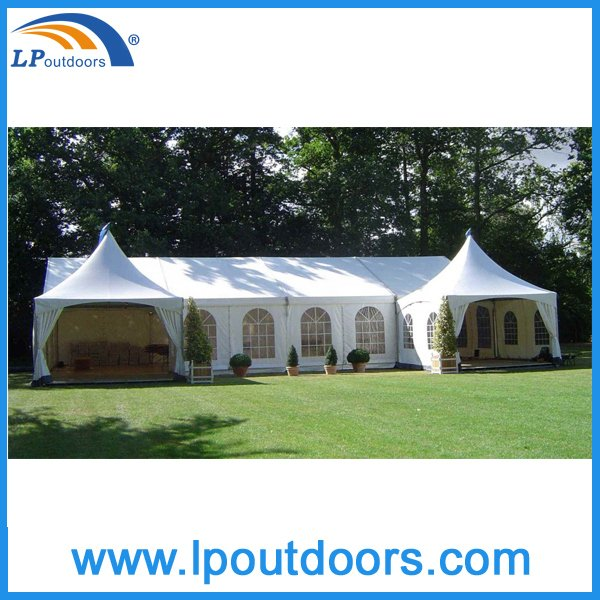 10X30m Combination Mixed Tent with 5X5m Pagoda Marquee