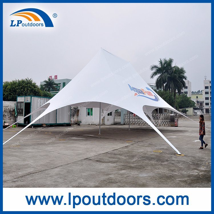 Large Aluminum Pole Red Bull Star Tents with Logo