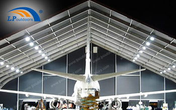 Outdoor Aluminum Aircraft Hangar Tent For Your Private Plane