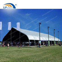 Outdoor Curved marquee temporaty aluminum structure for sports court