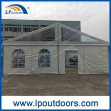 10m Transparent PVC Top Cover Marquee Party Tent for Wedding Event