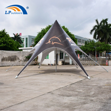 High Quality 10m Aluminum PVC Star Shade Tent For Rental