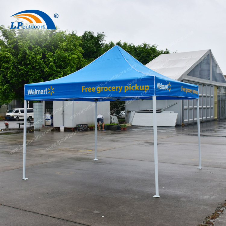 Foldable Canopy 10x10Ft Pop Up Tent For Walmart Advertising