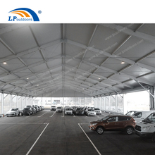 A frame structure temporary garage building for storage car park