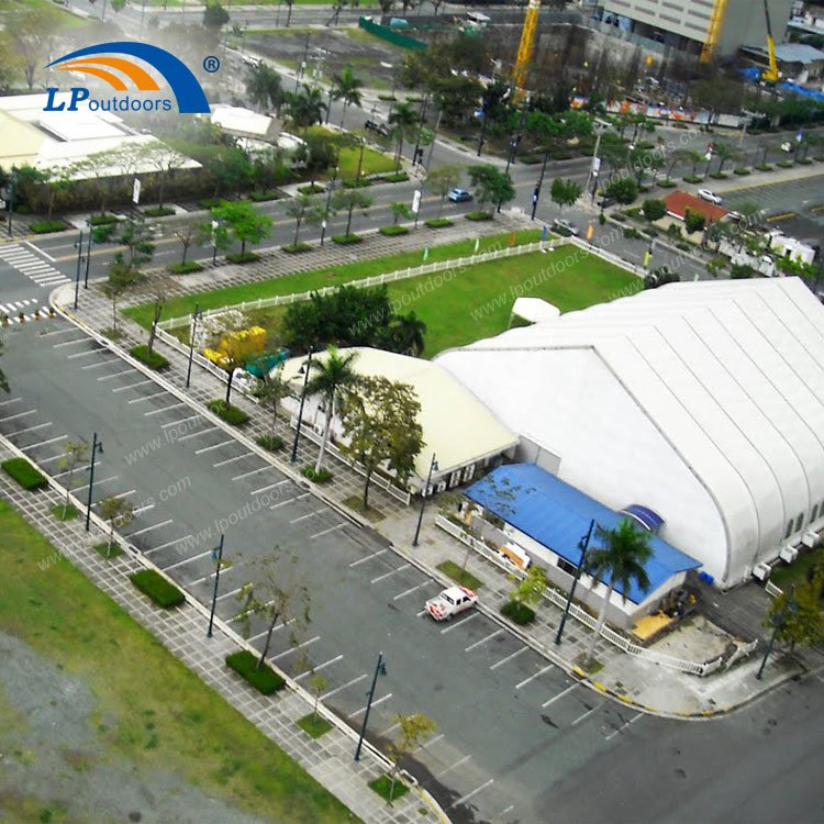 Outdoor High Quality Curve Tent for Sports And Concert