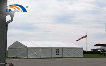 A frame aluminum hospital tent for Italian from LP Outdoors