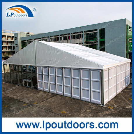 20X40m Outdoor Luxury ABS Glass Wall Marquee Tent