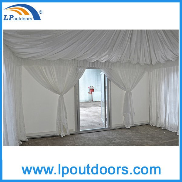 2016 New Design Party Pagoda Tent with Transparent PVC Window