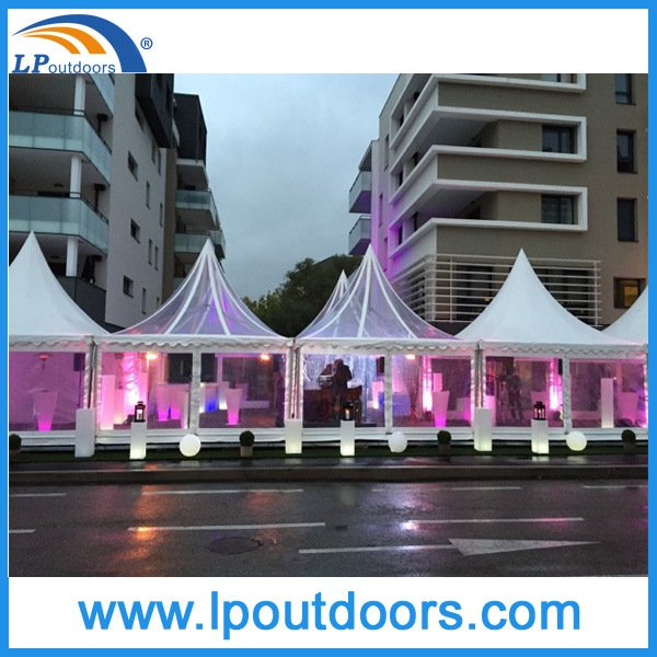 5X5m Luxury Transparent Wedding Party Marquee Tent