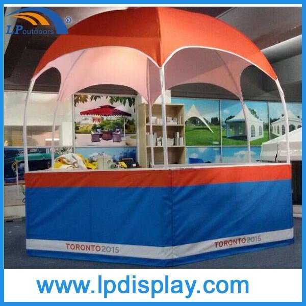 Dia 3m Hexagon Dome Trade Show Exhibition Booth for Advertising