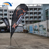 China Factory Customized Teardrop Beach Flag For Advertising