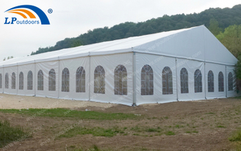 20x50m Large Clear Span Hall Tent Made A Successful Outdoor Food Festival Events
