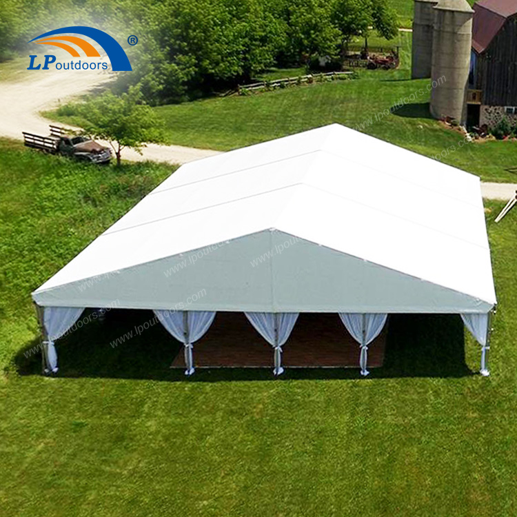 PVC Roof Cover Outdoor Event Banquet Tent With Luxury Decoration-1