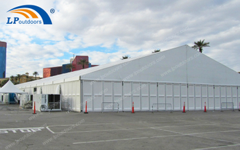 Temporary Industrial Aluminum Warehouse Tent With ABS Walls Meets Growing Storage Demand