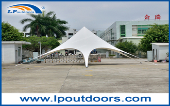 LP Outdoors Easy Installation & Customized Star Tent For Topic Event